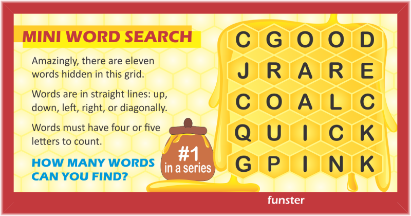 Mini Word Search 01