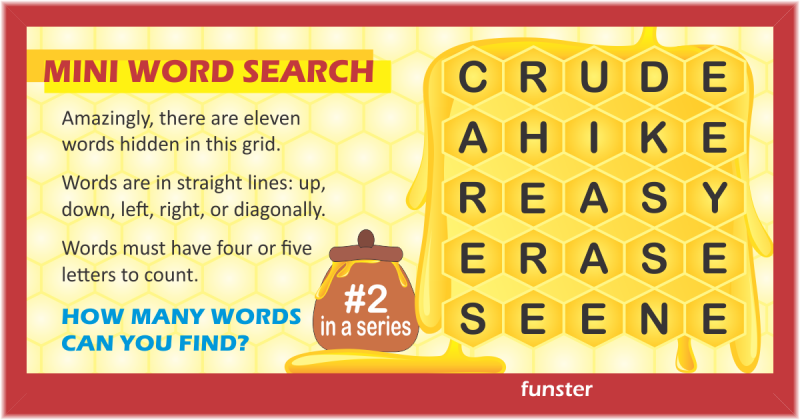 Mini Word Search 02