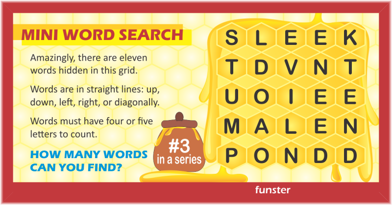 Mini Word Search 03