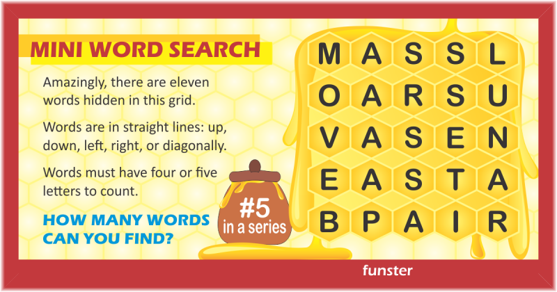Mini Word Search 05
