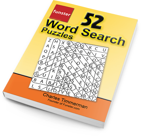 Free Printable Word Search Puzzles Book Funster